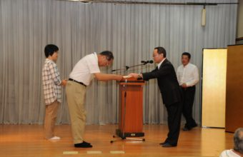 写真:社内表彰式及び創立記念懇親会