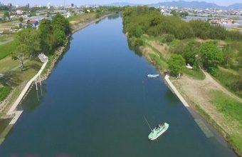 写真:ふるさと納税 牛川の渡し操船体験
