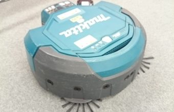 写真:清掃ロボット操作体験会参加①